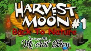Harvest MoonBack to Nature