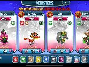 Monsters Legends Mod