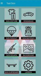 Tool-skin-menu